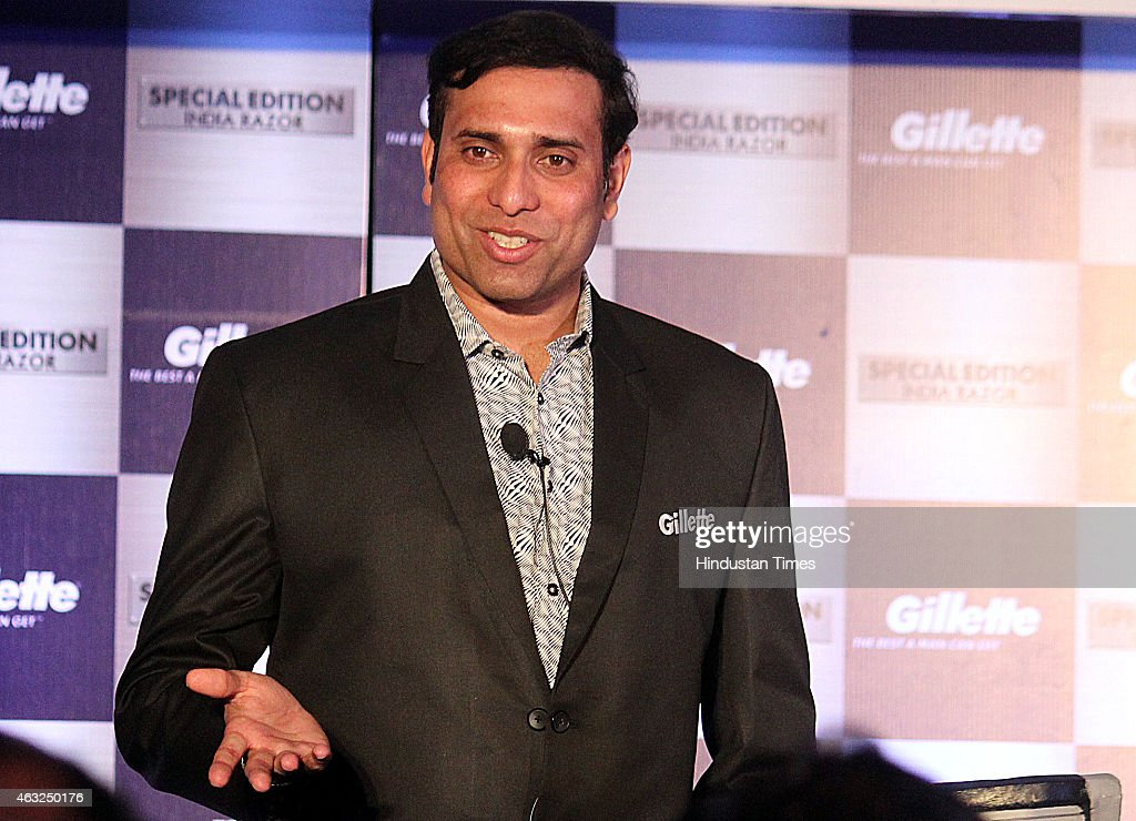 VVS Laxman At An Event In Indore