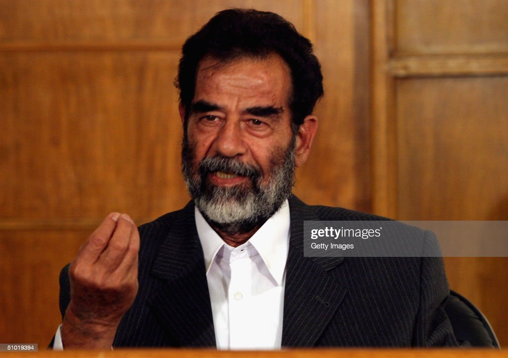 saddam hussein Raleigh, north carolina (cnn)donald trump on tuesday once again expressed his preference for keeping dictators in power in the middle east while acknowledging that saddam hussein was a bad.