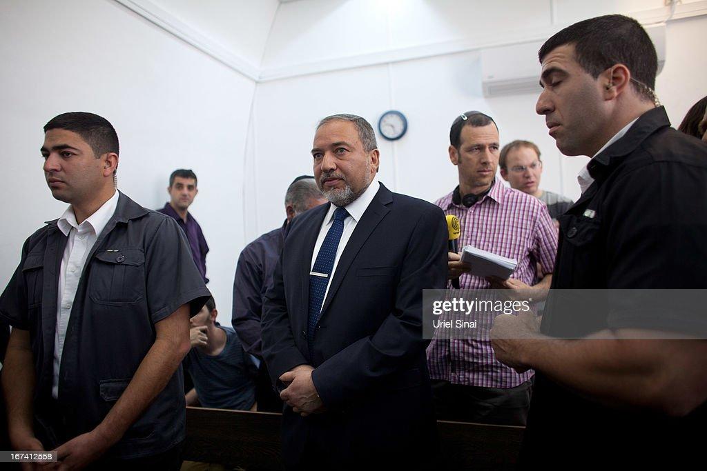 Former Israeli Foreign Minister Avigdor Lieberman's Trial Resumes