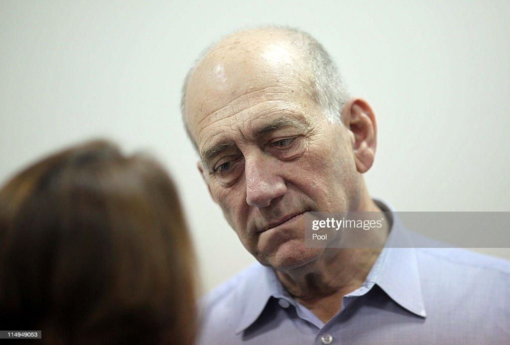 Former Israeli Prime Minister Ehud Olmert Corruption Trial