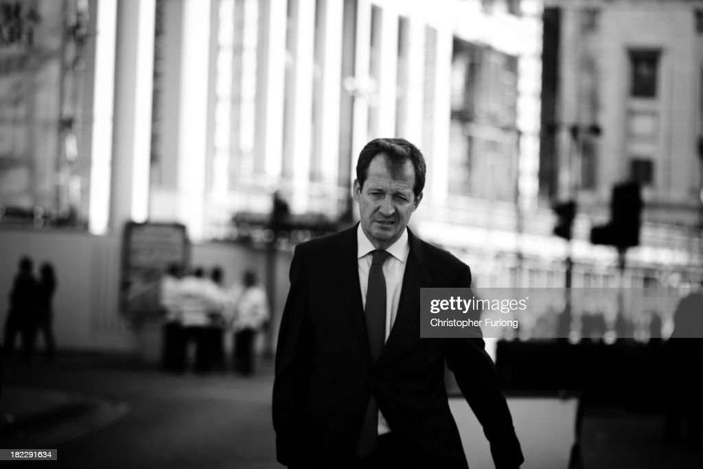Former Labour party communications director Alastair Campbell walks through Manchester on September 29, 2013 in Manchester, England. Prime Minister David Cameron has announced that the Government is to bring forward by three months its scheme to assist first-time home buyers in England to take out 95% mortgages.