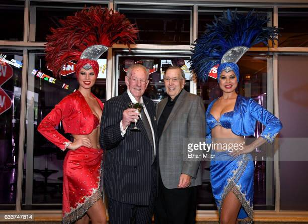 Former Las Vegas Mayor and current Chairman of the Las Vegas Host Committee Oscar Goodman and retired sportscaster and VSiN managing editor and lead...