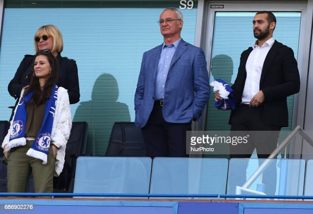 Former Leicester City and Chelsea manager Claudio Ranieri during the Premier League match between Chelsea and Sunderland at Stamford Bridge London...