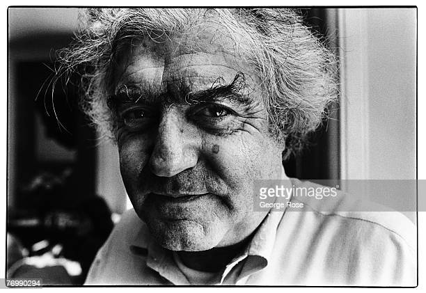 Former Life Magazine photographer and founder of the International Center of Photography Cornell Capa poses during a 1980 New York New York photo...