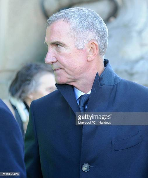 Former Liverpool Manager Graeme Souness arrives for the Hillsborough Vigil at St George's Hall on April 27 2016 in Liverpool England