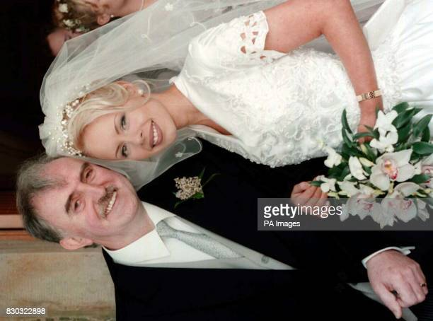 Former Lord Mayor of Belfast Dr Ian Adamson married student teacher Kerry Carson at the Holy Trinity Parish Church in Drumbo near Belfasttoday The...