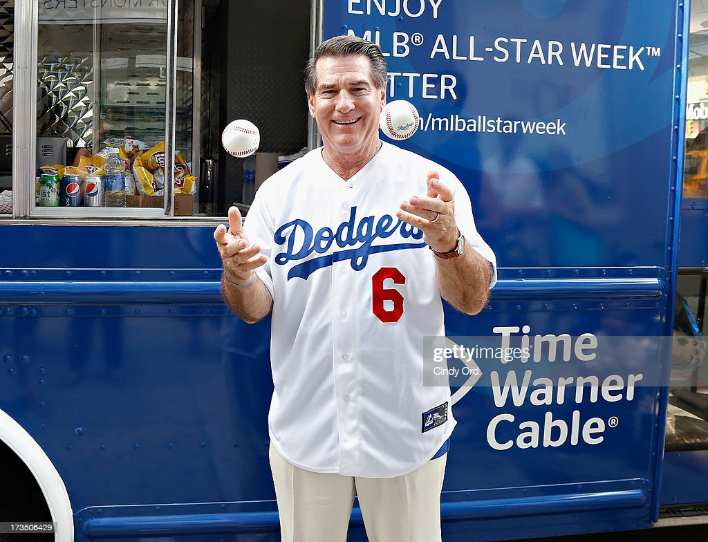 Former Los Angeles Dodgers player Steve Garvey attends Time Warner Cable MLB All Star Week - Food Trucks, Wifi & Players on July 15, 2013 in New York City.