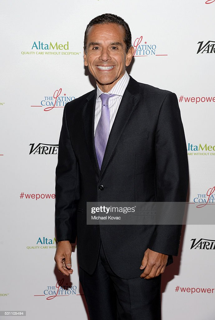 Former Los Angeles Mayor <a gi-track='captionPersonalityLinkClicked' href=/galleries/search?phrase=Antonio+Villaraigosa&family=editorial&specificpeople=178925 ng-click='$event.stopPropagation()'>Antonio Villaraigosa</a> attends the AltaMed Power Up, We Are The Future Gala at the Beverly Wilshire Four Seasons Hotel on May 12, 2016 in Beverly Hills, California.
