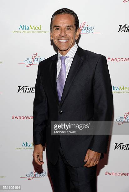 Former Los Angeles Mayor Antonio Villaraigosa attends the AltaMed Power Up We Are The Future Gala at the Beverly Wilshire Four Seasons Hotel on May...