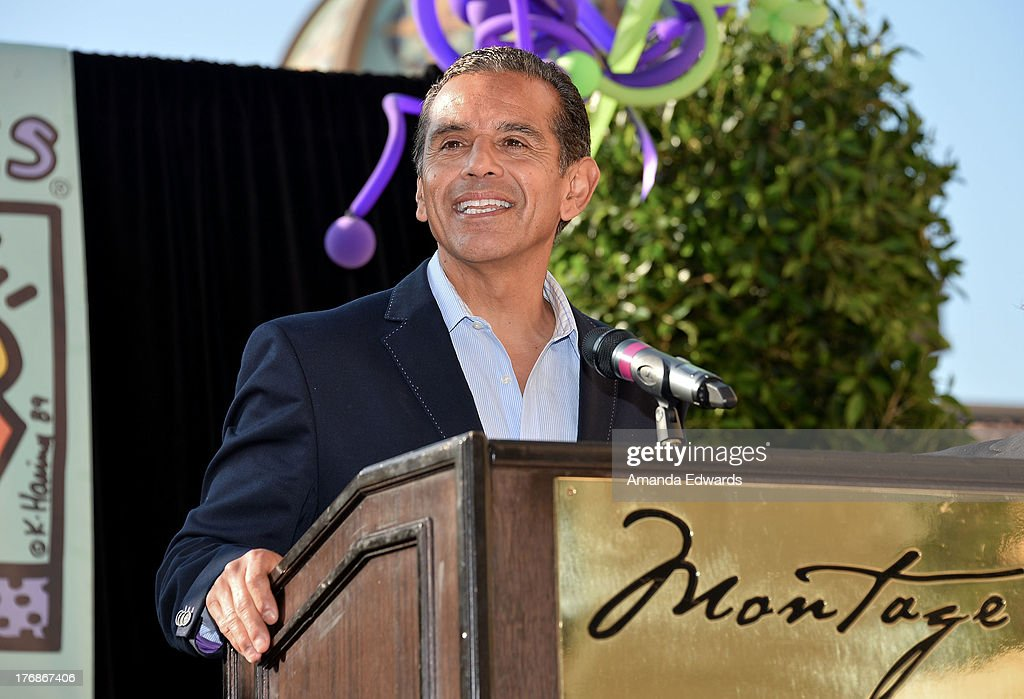 Former Los Angeles Mayor Antonio Villaraigosa attends the Team Maria benefit for Best Buddies at Montage Beverly Hills on August 18, 2013 in Beverly Hills, California.