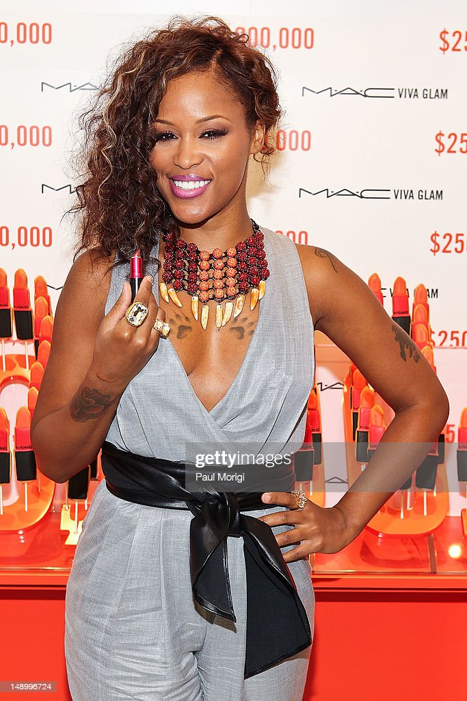 Former MAC VIVA GLAM Spokesperson, Eve, Celebrates The MAC AIDS Fund's $250 Million Milestone During The International AIDS Conference on July 21, 2012 in Washington, DC.
