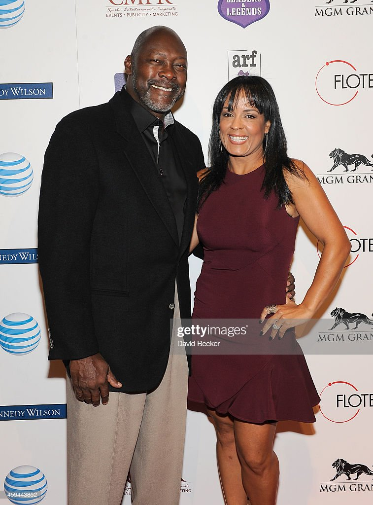 Former major league baseball pitcher Dave Stewart and his wife Lonnie Srewart arrive at Tony La Russa's 3rd annual Leaders Legends Gala benefitting...