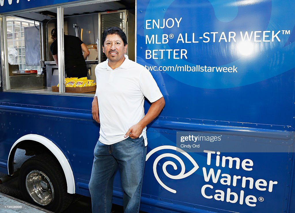 Former Major League Baseball player Jesse Orosco attends Time Warner Cable MLB All Star Week - Food Trucks, Wifi & Players on July 15, 2013 in New York City.