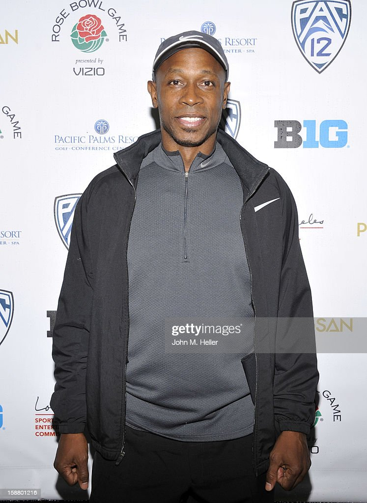 Former Major League Baseball Player Kenny Lofton attends the first annual Rose Bowl Golf Classic at the Pacific Palms Resort & Hotel on December 29, 2012 in City of Industry, California.