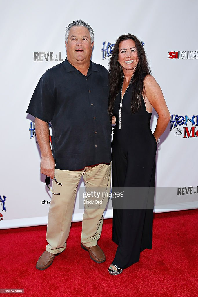 Former Major League Baseball player Rick Cerone (L) attends the 'Henry & Me' New York Premiere at Ziegfeld Theatre on August 18, 2014 in New York City.