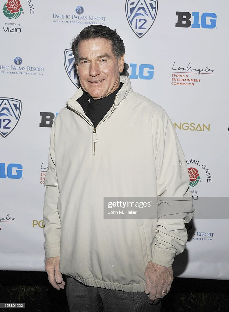 Former major league Baseball Player <a gi-track='captionPersonalityLinkClicked' href=/galleries/search?phrase=Steve+Garvey&family=editorial&specificpeople=210829 ng-click='$event.stopPropagation()'>Steve Garvey</a> attends the first annual Rose Bowl Golf Classic at the Pacific Palms Resort & Hotel on December 29, 2012 in City of Industry, California.