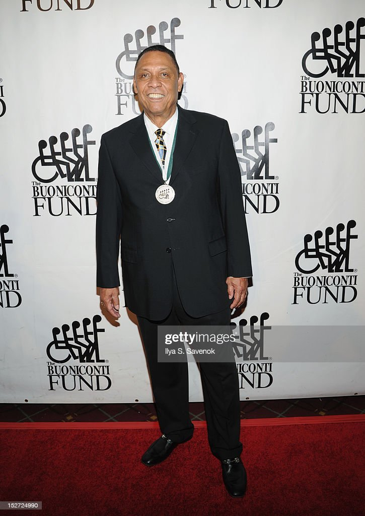 Former Major League Baseball Player <a gi-track='captionPersonalityLinkClicked' href=/galleries/search?phrase=Tony+Perez&family=editorial&specificpeople=208186 ng-click='$event.stopPropagation()'>Tony Perez</a> attends the 27th Annual Great Sports Legends Dinner to benefit the Buoniconti Fund to Cure Paralysis at The Waldorf=Astoria on September 24, 2012 in New York City.