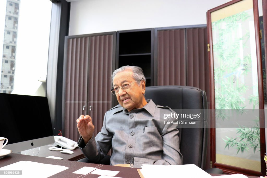 Former Malaysian Prime Minister Mahathir bin Mohamad Interview