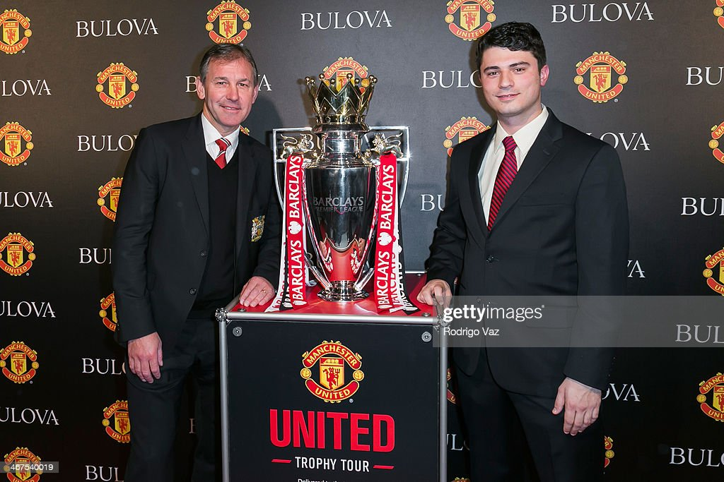 Bulova/Manchester United Trophy Tour Red Carpet Event