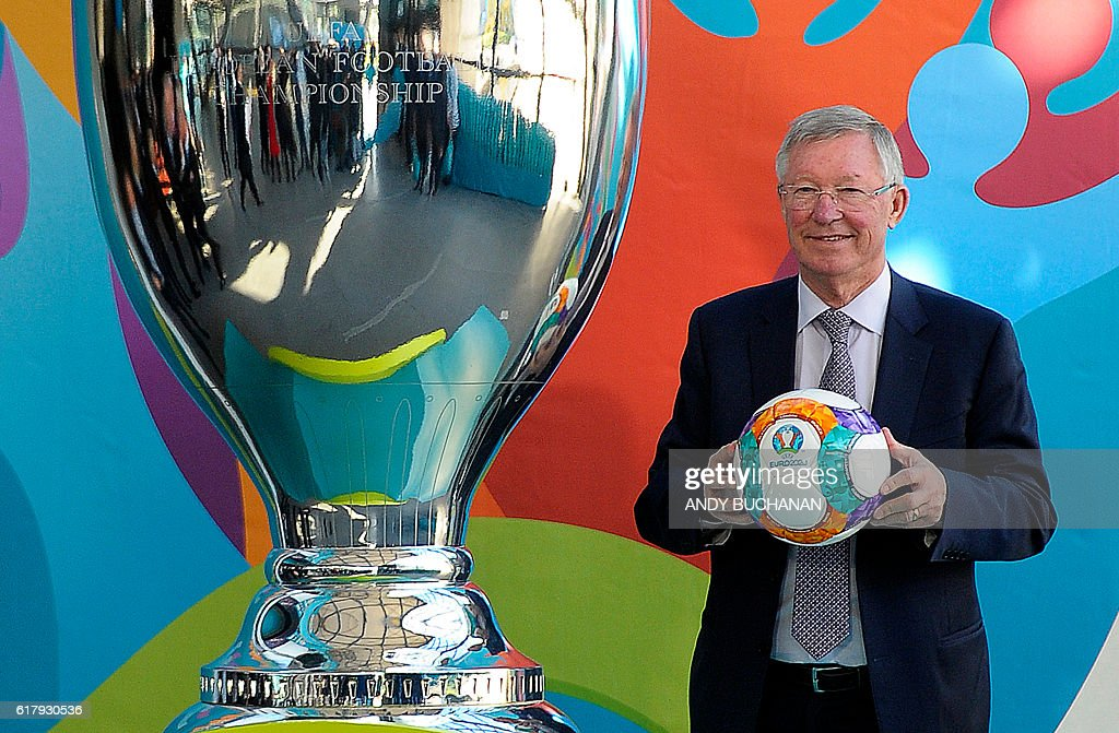 FBL-EURO-2020-LOGO-LAUNCH : News Photo