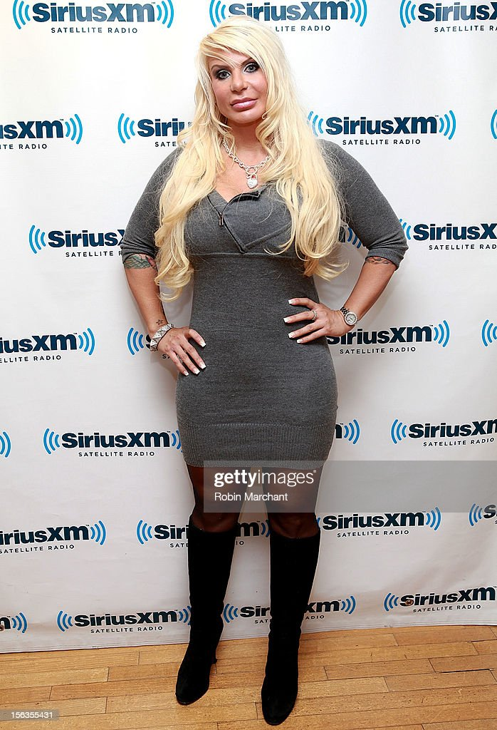 Former 'Manhattan Madam' <a gi-track='captionPersonalityLinkClicked' href=/galleries/search?phrase=Kristin+Davis&family=editorial&specificpeople=202097 ng-click='$event.stopPropagation()'>Kristin Davis</a> visits the SiriusXM Studios on November 13, 2012 in New York City.