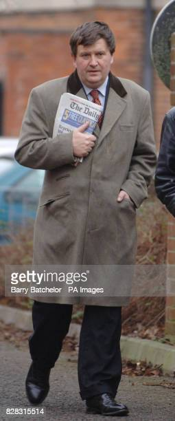 Former maths teacher Andrew Richards 44 arrives at Devizes Magistrates Court Tuesday January 31 2006 where he is accused of downloading indecent...
