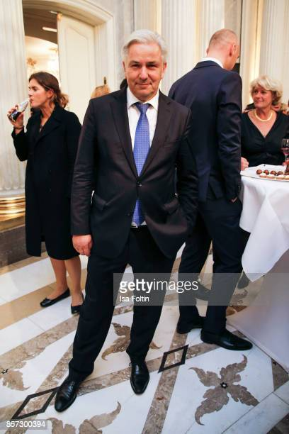 Former mayor of Berlin Klaus Wowereit during the ReOpening of the Staatsoper Unter den Linden on October 3 2017 in Berlin Germany