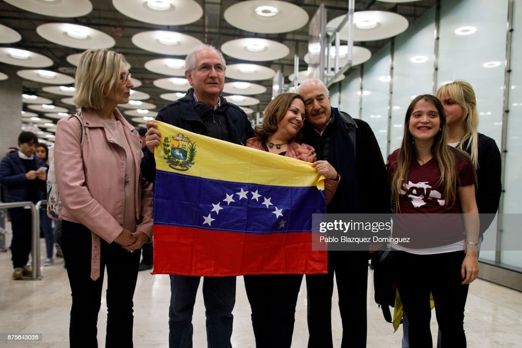 Former Caracas Mayor Escapes House Arrest And Arrives In Madrid