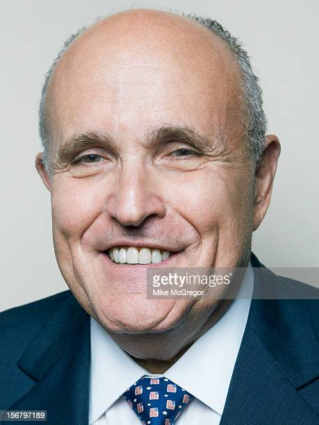 Former mayor of New York City Rudolph Giuliani is photographed for Self Assignment on September 11 2012 in New York City