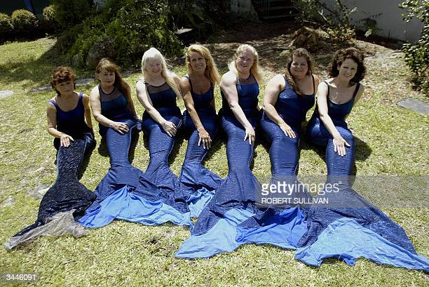 Former mermaids Vicki Smith 195761 Dottie Meares 195154 Billie Fuller 196869 Lynn Colombo 197386 Bev Sutton 196972 Susie Pennoyer 197173 and Barbara...