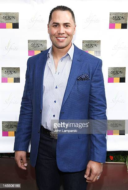 Former Mets player Carlos Beltran attends Carlos Beltran's Baseball Academy Fundraiser at Sofrito on May 31 2012 in New York City
