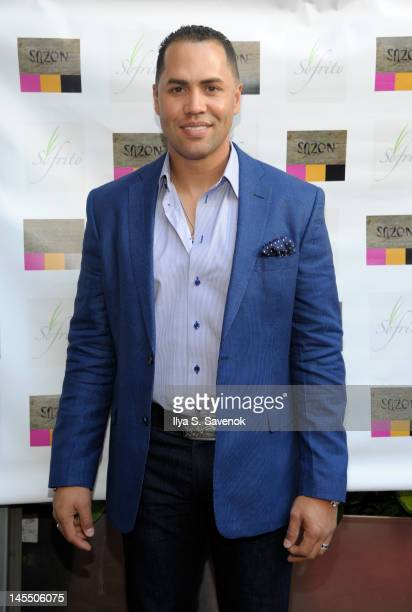 Former Mets player Carlos Beltran attends the Carlos Beltran Baseball Academy Fundraiser at Sofrito on May 31 2012 in New York City