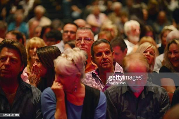 Former Miami Mayor Manny Diaz attends Three Dog Night concert at Seminole Casino Coconut Creek on January 5 2013 in Coconut Creek Florida