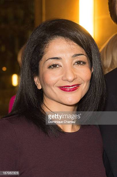 Former Minister and member of the French Council of State Jeannette Bougrab attends the annual gala evening of the FrenchAmerican Foundation at the...