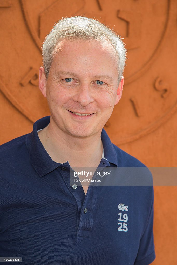 Former minister Bruno Le Maire attends the Roland Garros French Tennis