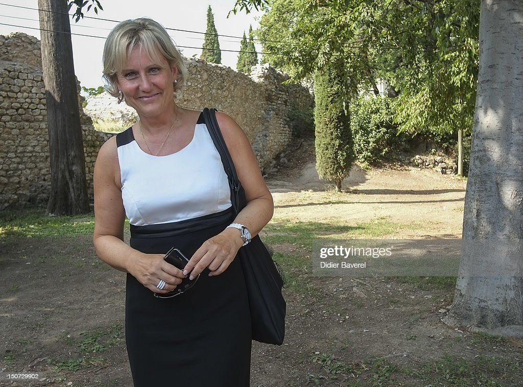 Former minister Nadine Morano attends the first Rally of the association The friends of Nicolas Sarkozy on August 24, 2012 in Nice, France.
