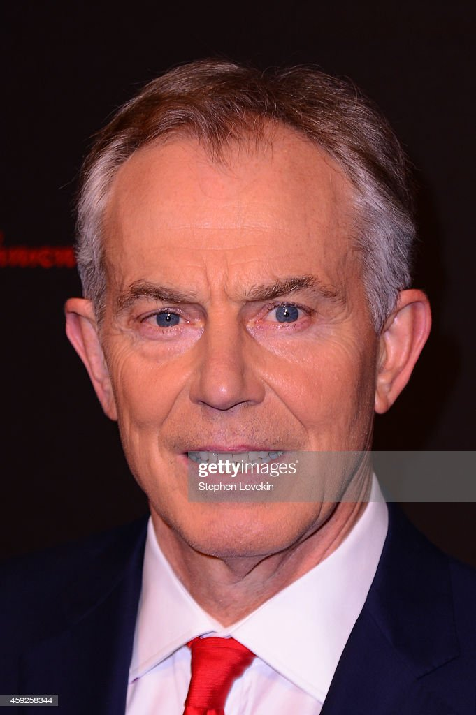 Former Minister of the United Kingdom and Honoree Tony Blair attends the 2nd Annual Save The Children Illumination Gala at the Plaza on November 19, 2014 in New York City.