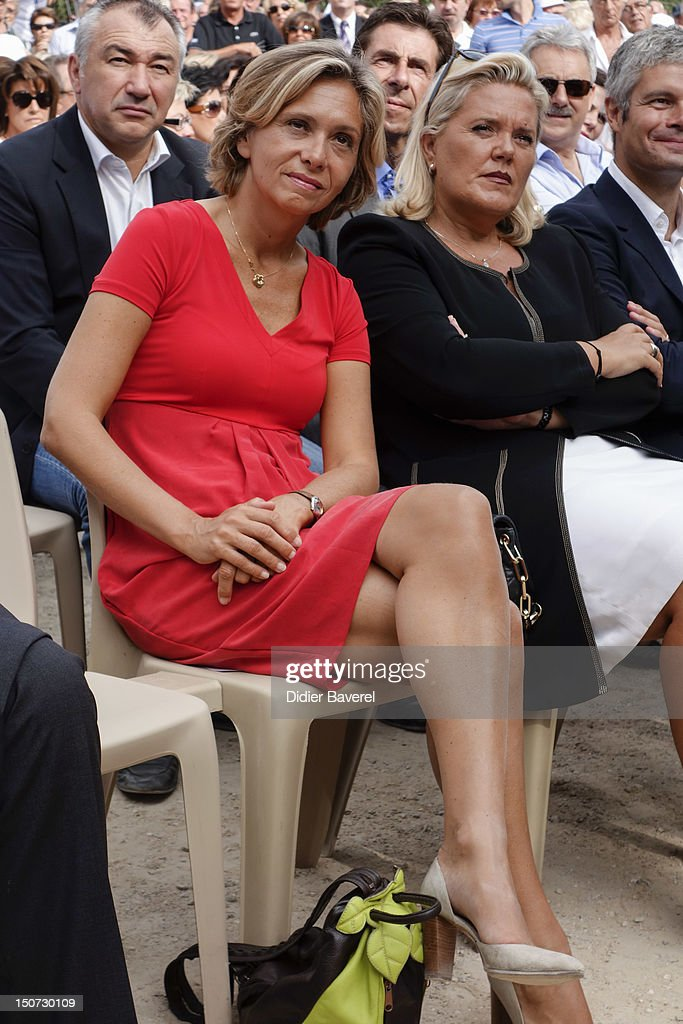 Former minister Valerie Pecresse attends the second day of the National association of the friends of Nicolas Sarkozy on August 25, 2012 in Nice, France.