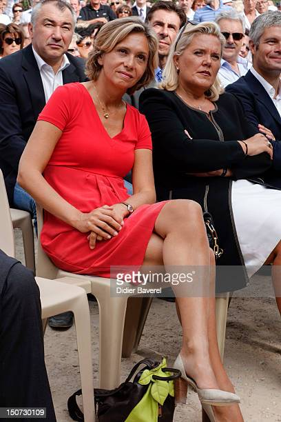 Former minister Valerie Pecresse attends the second day of the National association of the friends of Nicolas Sarkozy on August 25 2012 in Nice France