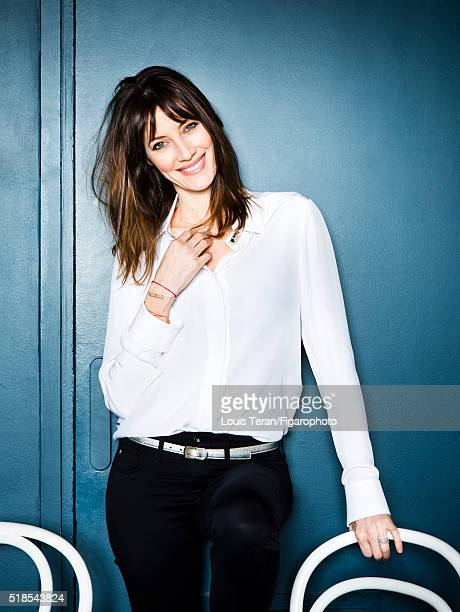 Former Miss France and cofounder of Good Organic Only Mareva Galanter is photographed for Madame Figaro on February 15 2016 in Paris France PUBLISHED...