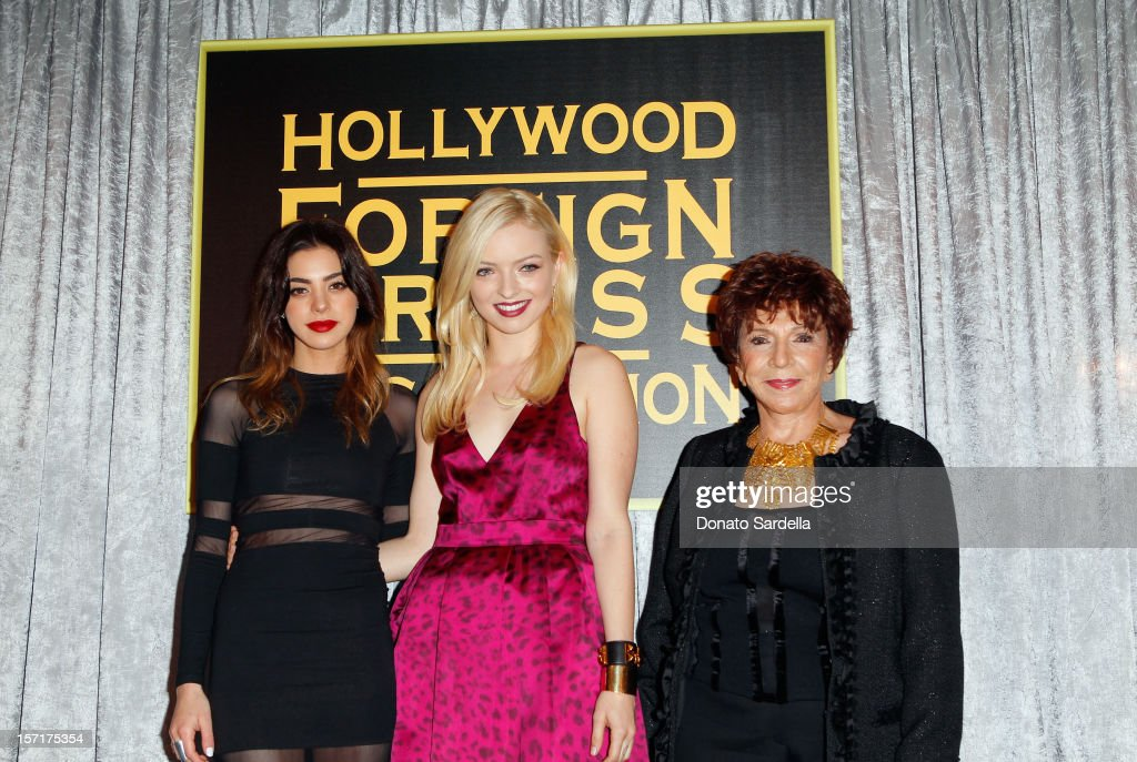 The Hollywood Foreign Press Association and InStyle Celebrate 2013's Miss Golden Globe And The Golden Globe Awards Season