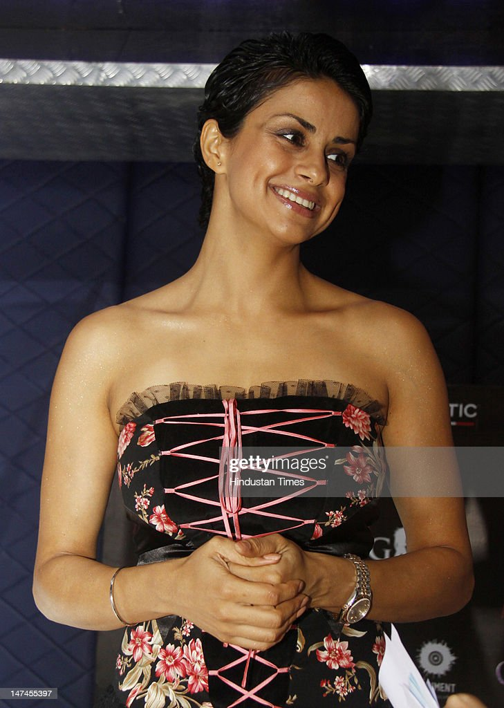 Former Miss India and actress <a gi-track='captionPersonalityLinkClicked' href=/galleries/search?phrase=Gul+Panag&family=editorial&specificpeople=565772 ng-click='$event.stopPropagation()'>Gul Panag</a> attends a function hosted by Artic at The Bristol Hotel on June 28, 2012 in Gurgaon, India.