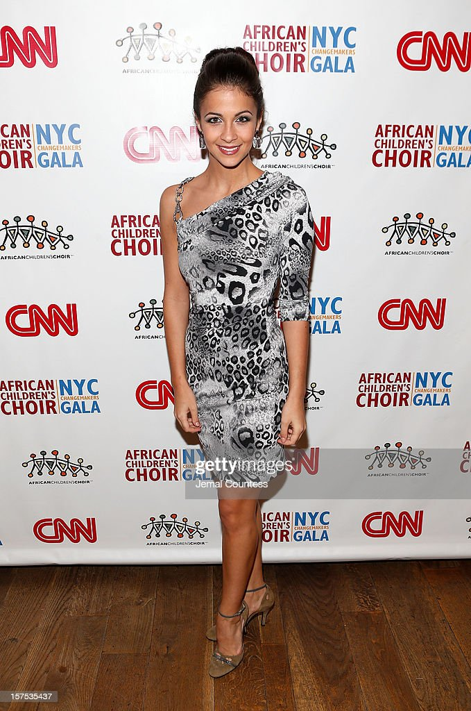Former Miss New York Kaitlin Monte attend the 4th Annual African Children's Choir Fundraising Gala at City Winery on December 3, 2012 in New York City.