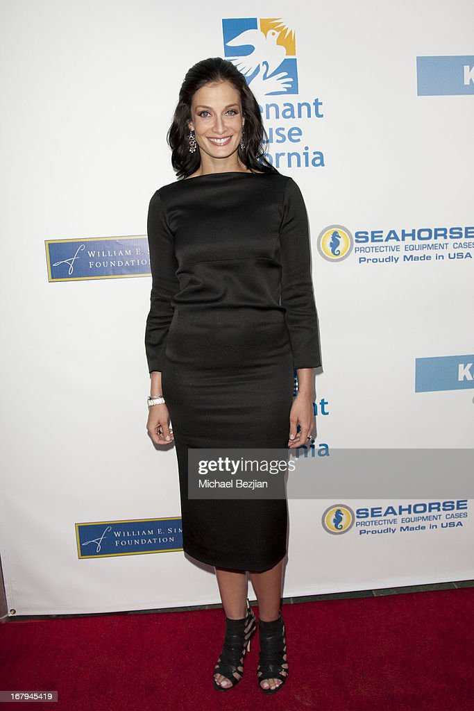 Former Miss Puerto Rico Dayanara Torres arrives at the Covenant House California 2013 Gala And Awards Dinner at Skirball Cultural Center on May 2, 2013 in Los Angeles, California.