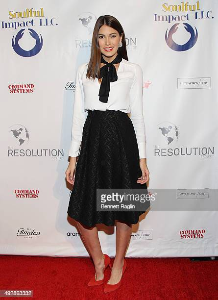 Former Miss Universe Gabriela Isler attends The Resolution Project's Resolve 2015 Gala at The Harvard Club on October 15 2015 in New York City