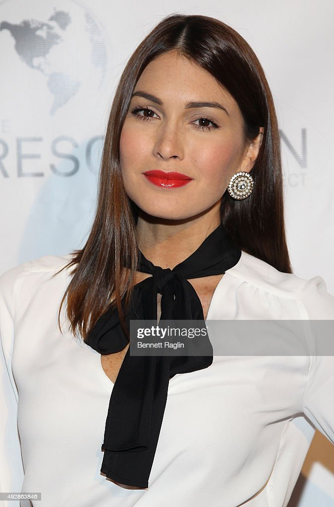 Former Miss Universe Gabriela Isler attends The Resolution Project's Resolve 2015 Gala at The Harvard Club on October 15, 2015 in New York City.