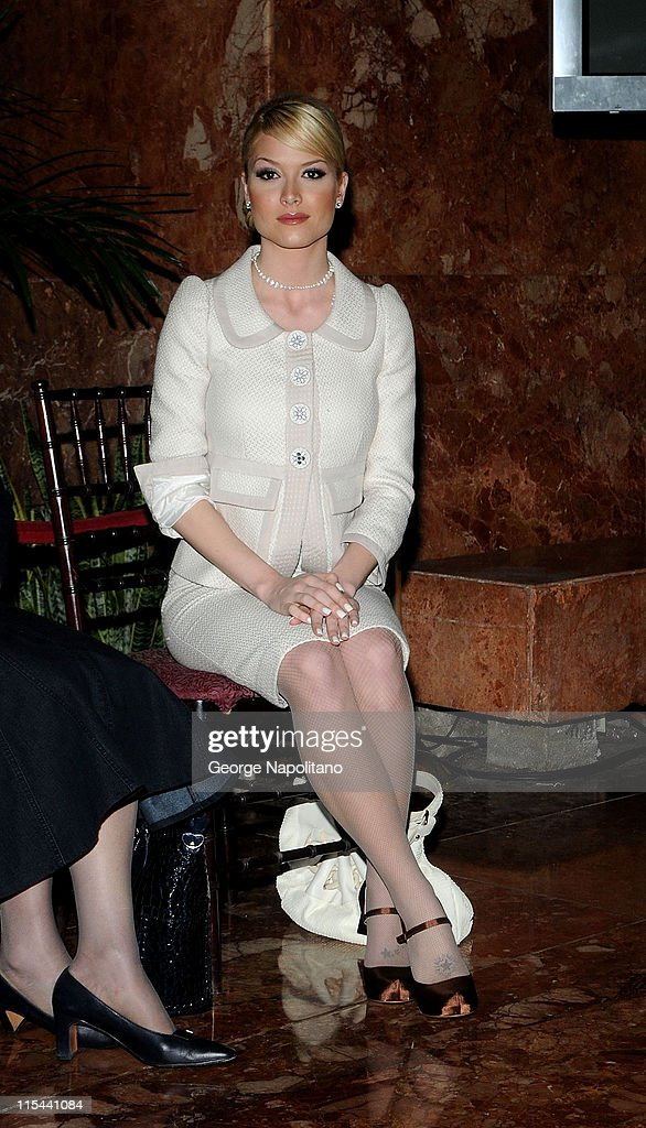 """MTV And Donald Trump's """"The Girls Of Hedsor Hall"""" Press Conference"""