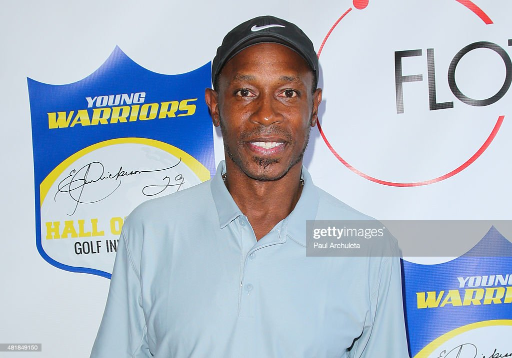 Former MLB Outfielder Kenny Lofton attends the 2nd annual Hall Of Fame Golf Invitational benefiting The Young Warriors Foundation at Angeles National Golf Club on July 24, 2015 in Sunland, California.