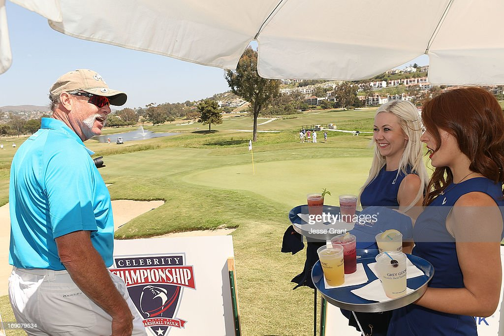 Former MLB pitcher Goose Gossage (L) attends the Marshall Faulk Celebrity Golf Championship Presented by GREY GOOSE held at La Costa Resort & Spa on May 19, 2013 in Carlsbad, California.