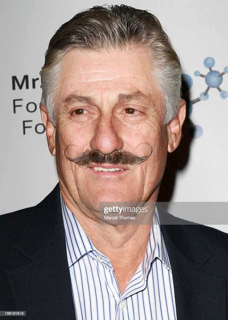 Former MLB pitcher Rollie Fingers attends the 8th All Star Celebrity Classic benefiting the Mr October Foundation for Kids at Cosmopolitan Hotel on November 11, 2012 in Las Vegas, Nevada.